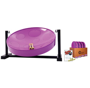 Jumbie Jam Steel Drum Educators 4-Pack - Table Top Stands (G)