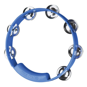 "RhythmTech TC4048 8"" Single Row Jingles Tambourine - Blue"