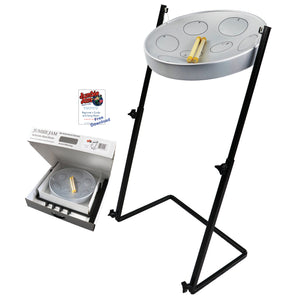 Jumbie Jam Steel Drum Kit - Metal Z-Floor Stand (G)