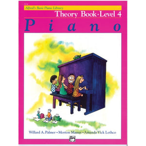 Alfred's Basic Piano Library Theory Book 4