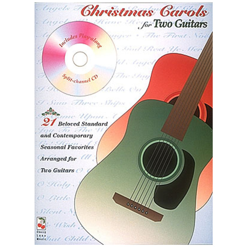Christmas Carols for Two Guitars w/CD