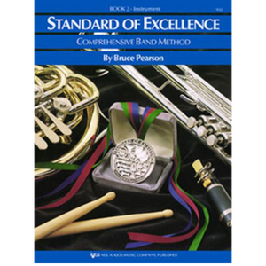 Standard of Excellence Book 2 - Timpani/Auxiliary Percussion