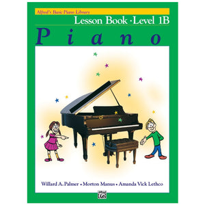 Alfred's Basic Piano Library Lesson Book 1B