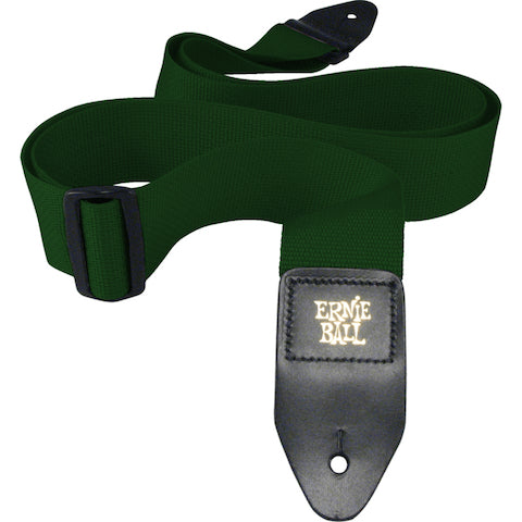 Ernie Ball 4050 Forest Green Poly Strap