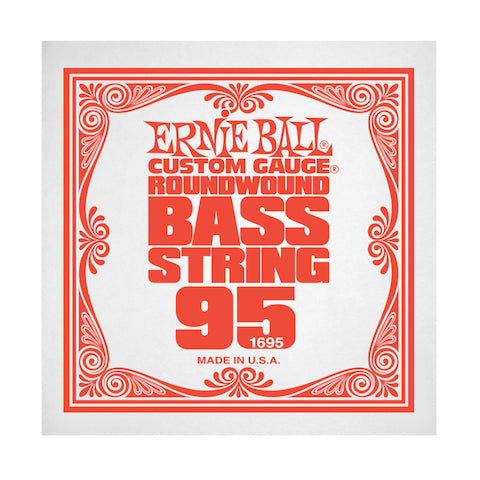 Ernie Ball 1695 95 Roundwound Bass Single String