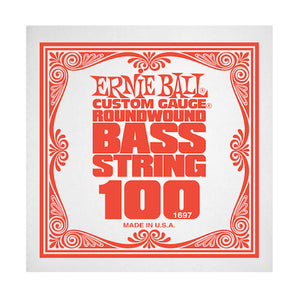 Ernie Ball 1697 100 Roundwound Bass Single String