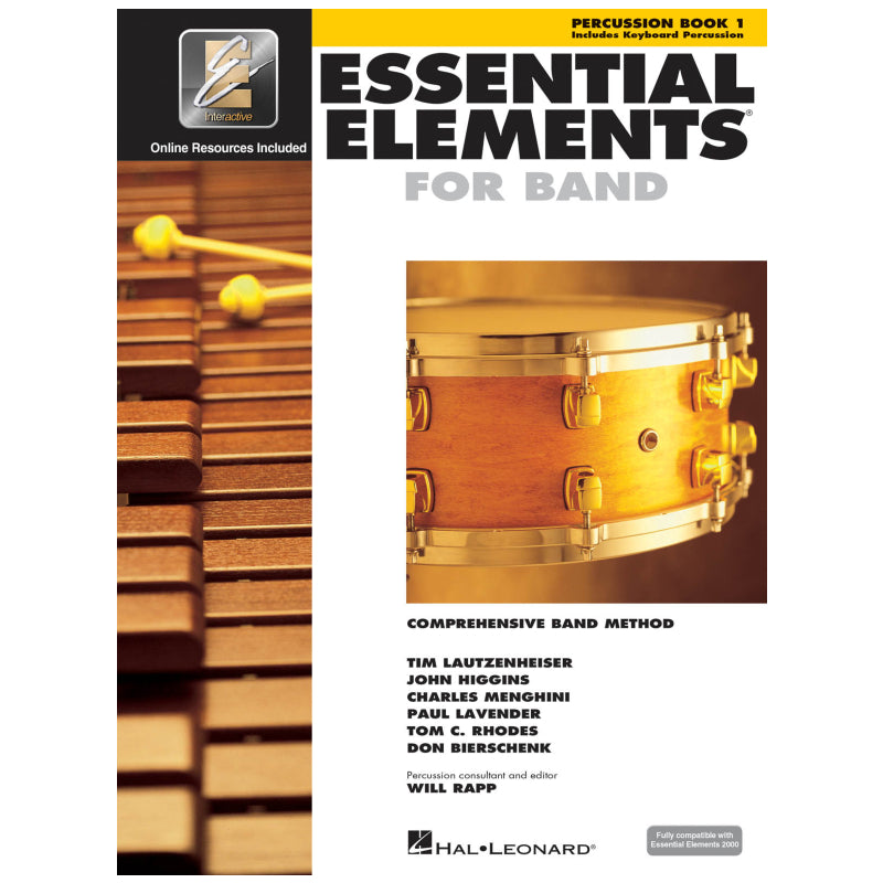 Essential Elements for Band – Percussion/Keyboard Percussion Book 1 with Ee