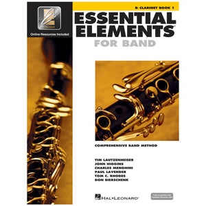 Essential Elements for Band – Bb Clarinet Book 1 with Eei