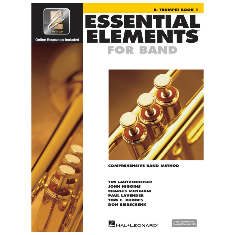 Essential Elements for Band – Bb Trumpet Book 1 with Eei