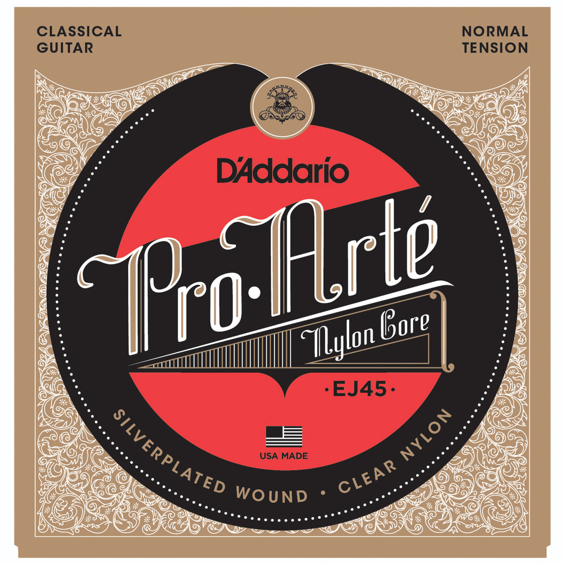 D'Addario EJ45 Pro Arte Normal Classical Guitar Strings
