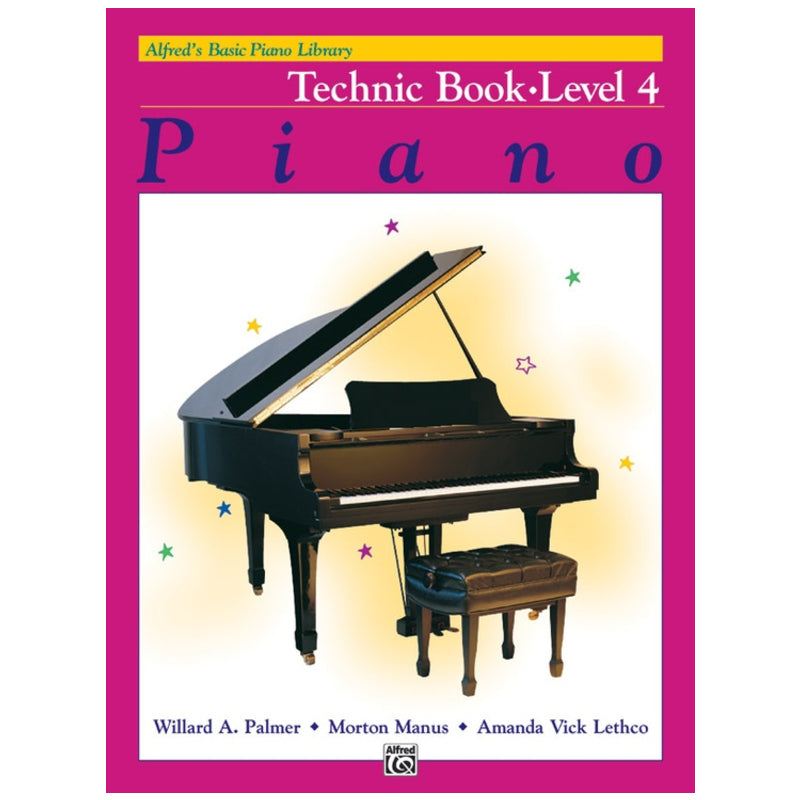 Alfred's Basic Piano Library Technic Book 4