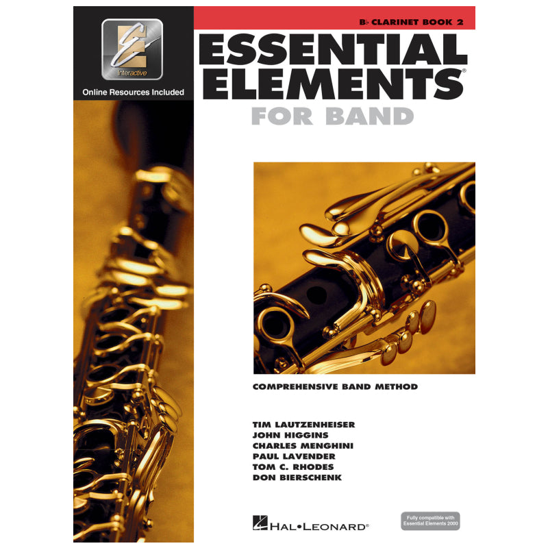 Essential Elements for Band – Bb Clarinet Book 2 with Eei