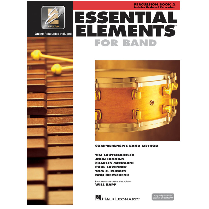 Essential Elements for Band – Percussion/Keyboard Percussion Book 2 with EEi