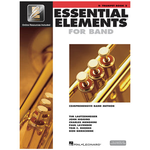 Essential Elements for Band – Bb Trumpet Book 2 with Eei