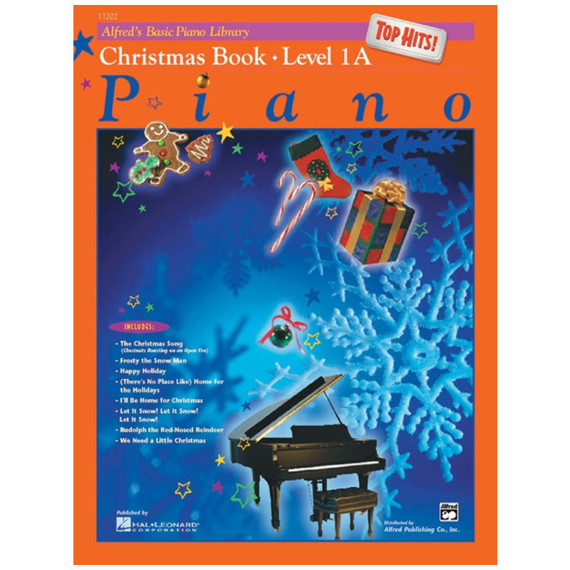 Alfred's Basic Piano Library Top Hits! Christmas Book 1A