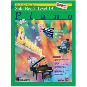 Alfred's Basic Piano Library Top Hits! Solo Book 1B