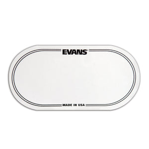 Evans EQPC2 Clear Bass Drum Beater Patch