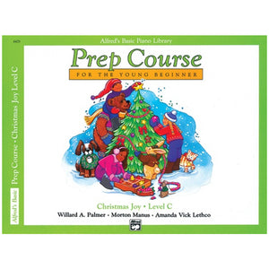 Alfred's Basic Piano Prep Course Christmas Joy! Book C