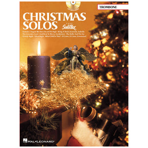 Christmas Solo Easy SoloTrax Trombone W/CD