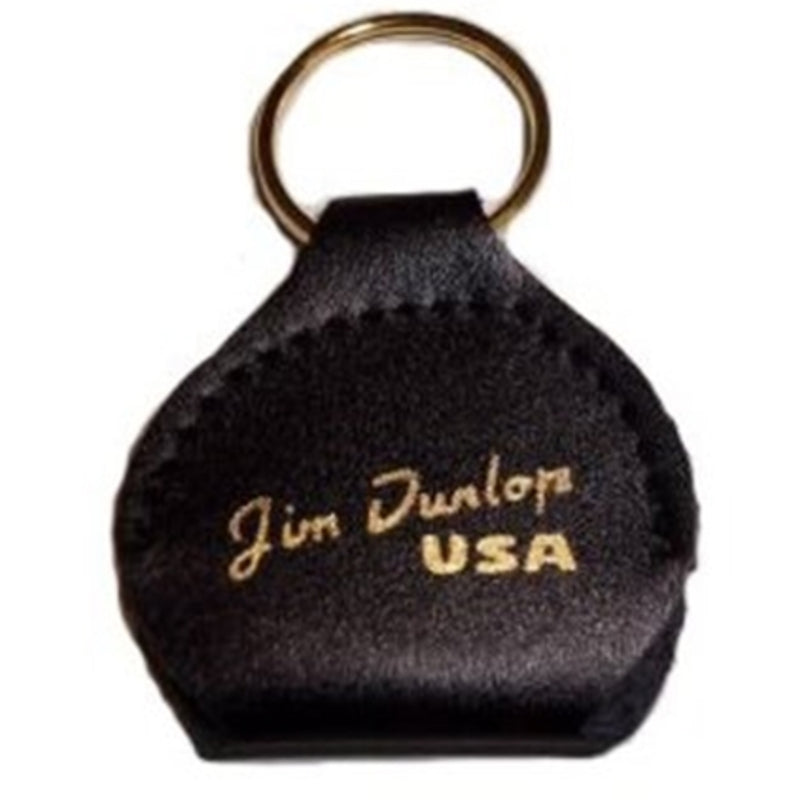 Dunlop 5200 Pickers Pouch with Keyring Black Gold Logo - EACH