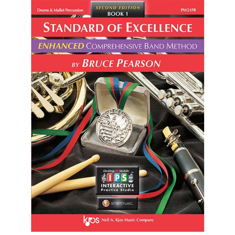 Standard of Excellence ENHANCED Book 1 - Drums & Mallet Percussion