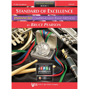 Standard of Excellence ENHANCED Book 1 - Eb Alto Saxophone