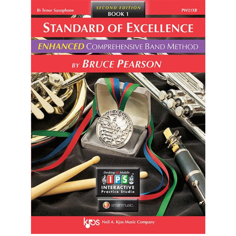 Standard of Excellence ENHANCED Book 1 - Bb Tenor Saxophone