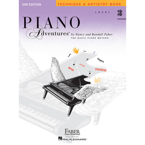 Faber Piano Adventures Technique & Artistry Level 3B