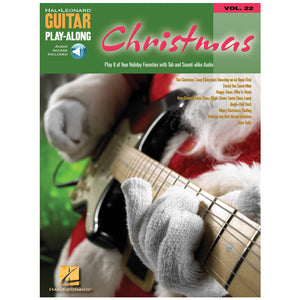 Christmas Guitar Play-Along Volume 22