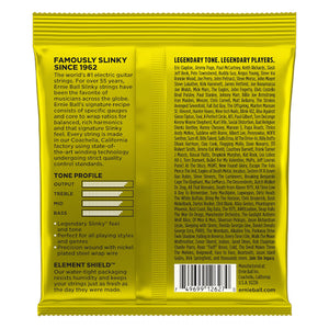 Ernie Ball 2627 11-54 Electric Beefy Strings