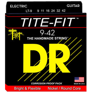 DR Strings LT-9 9-42 Electric Lite N Tite Strings