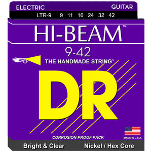 DR Strings LTR-9 9-42 Electric Hi Beam Strings