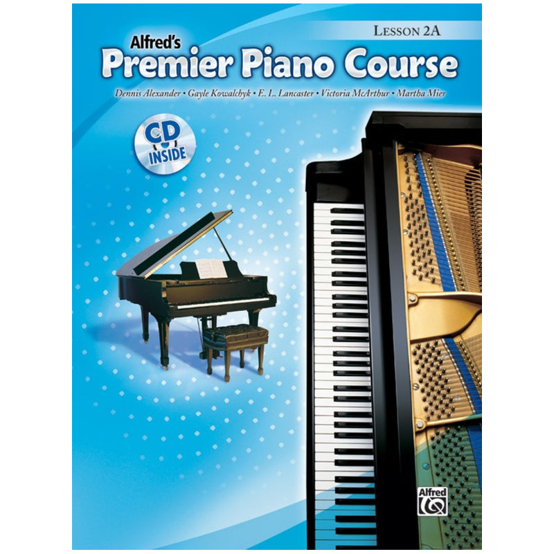 Alfred's Premier Piano Course Lesson 2A w/CD