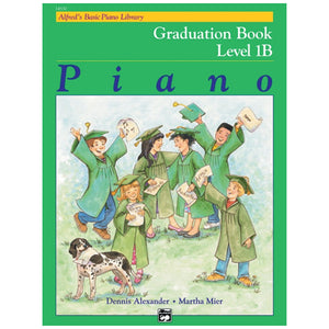 Alfred's Basic Piano Library Graduation Book 1B