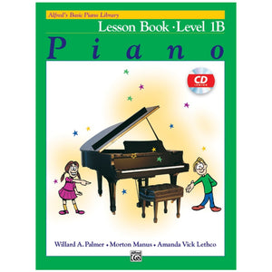 Alfred's Basic Piano Library Lesson Book 1B w/CD