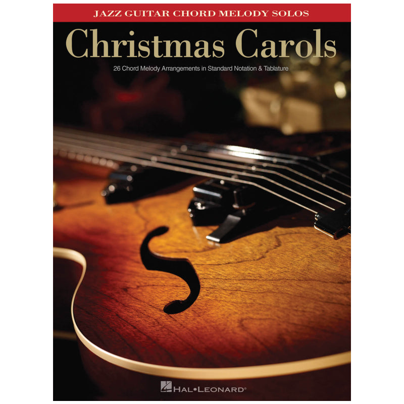 Christmas Carols Jazz Guitar Chord Melody Solos