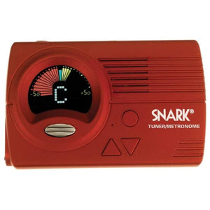 Snark SN4 All Instrument Chromatic Tuner with Metronome - Red