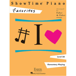 Faber Showtime Piano Favorites Level 2A