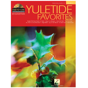 Yuletide Favorites Piano Play-Along Volume 13