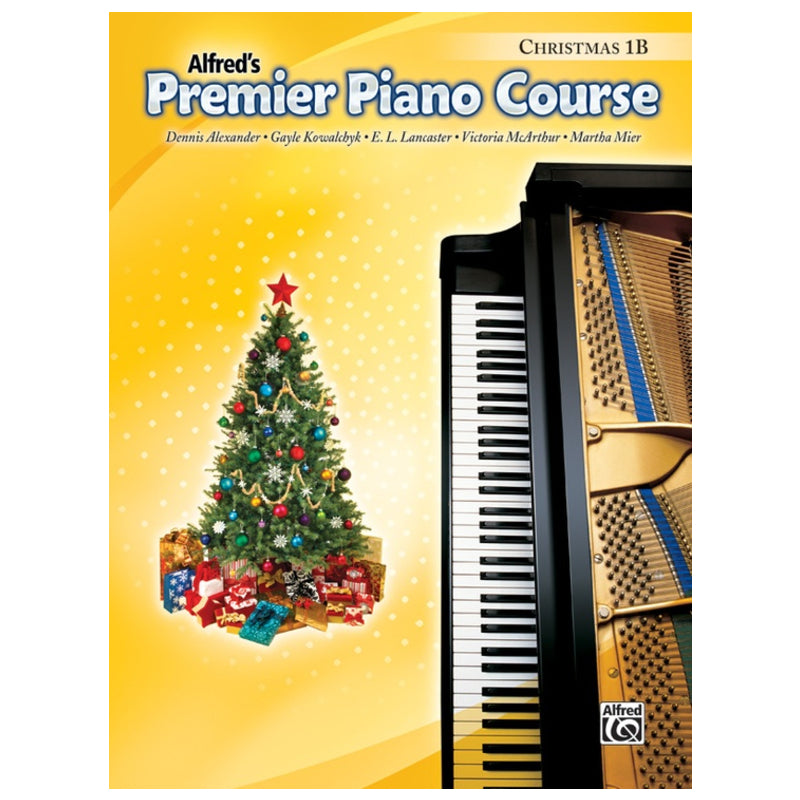 Alfred's Premier Piano Course Christmas 1B
