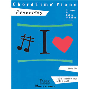 Faber Chordtime Piano Favorites Level 2B