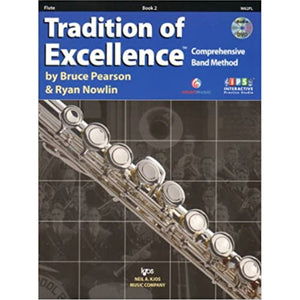 Tradition of Excellence Book 2 - Flute w/DVD