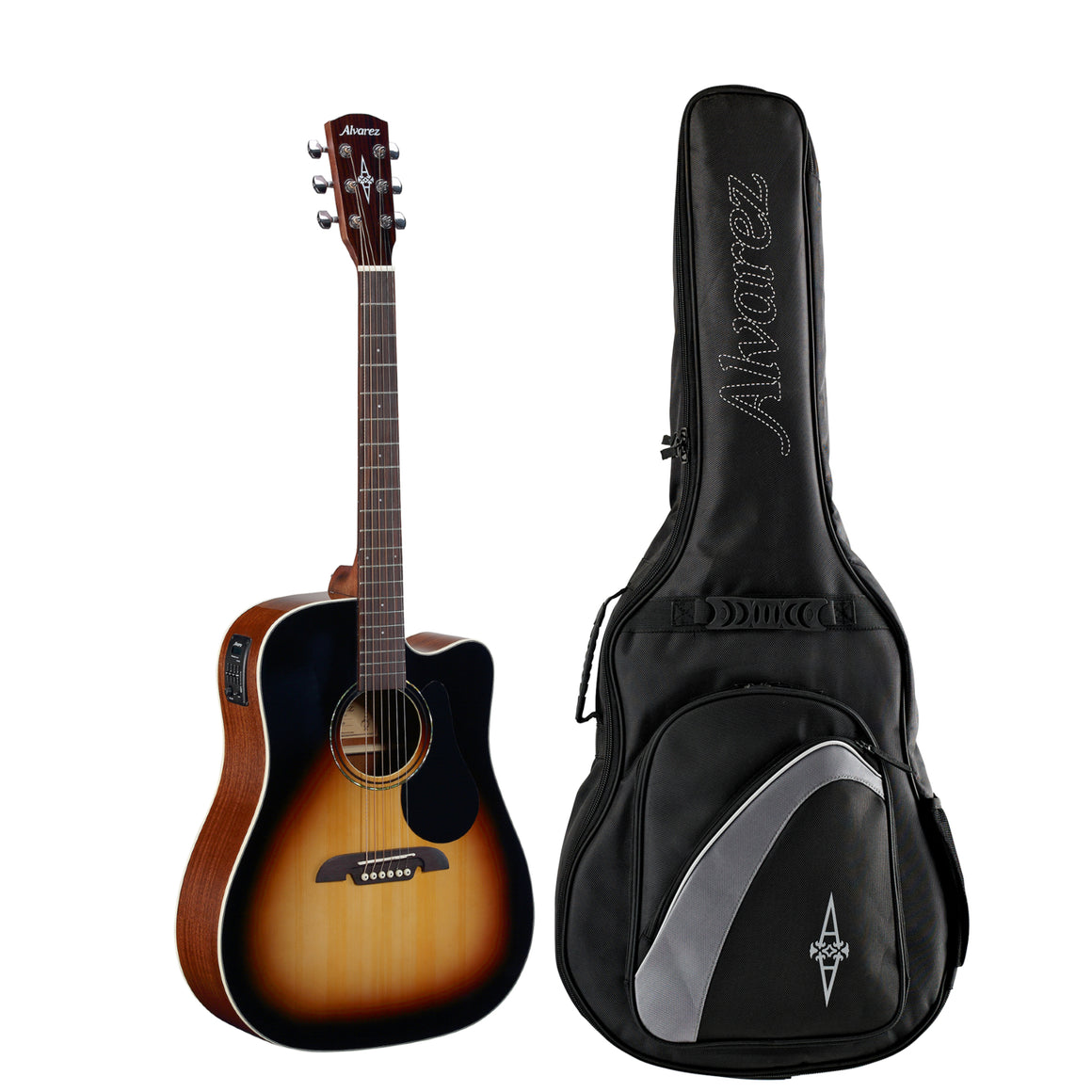 Alvarez Regent RD26CESB Acoustic Electric Sunburst Guitar with Gigbag
