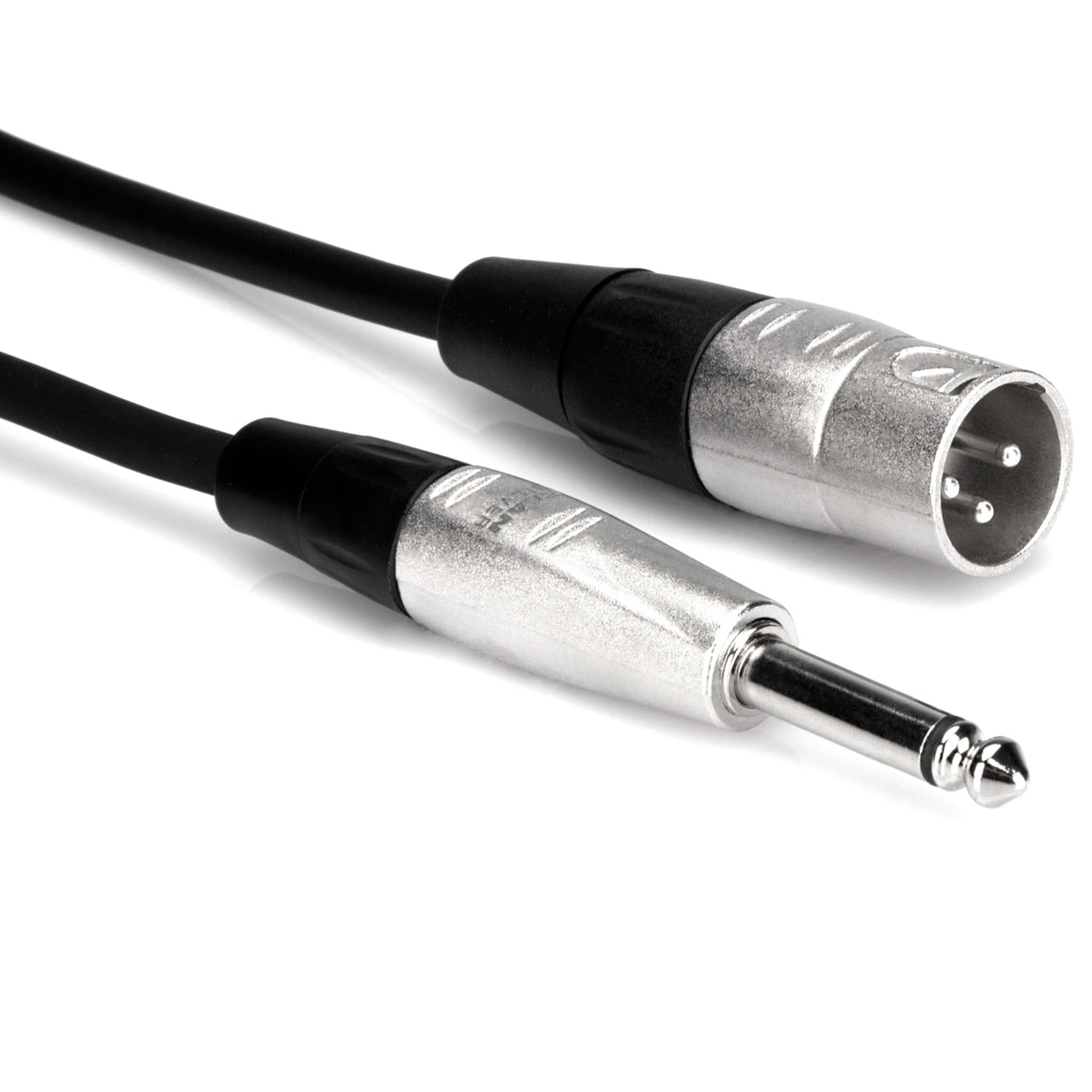 Hosa HPX-015 15ft Pro Unbalanced Interconnect Cable - XLRM to 1/4 TS
