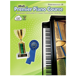 Alfred's Premier Piano Course Performance 2B w/CD