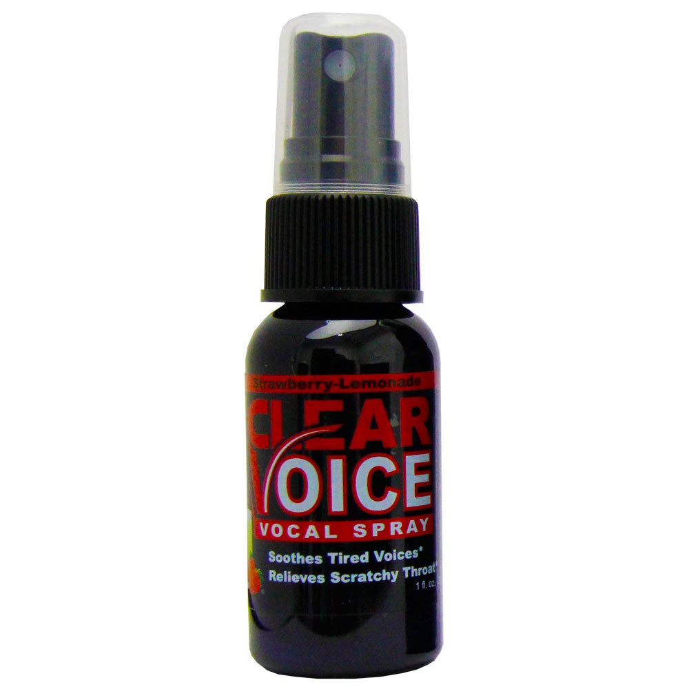 Clear Voice Strawberry Lemonade Vocal Spray