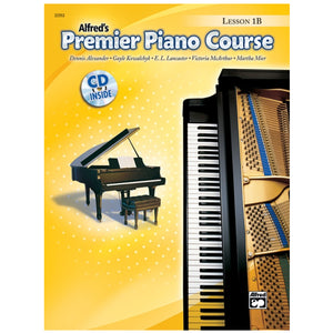 Alfred's Premier Piano Course Lesson 1B w/CD