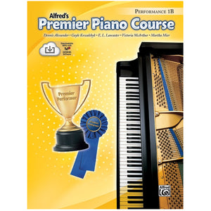 Alfred's Premier Piano Course   Performance 1B w/CD