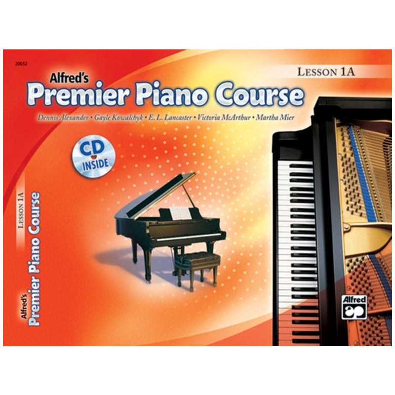 Alfred's Premier Piano Course Lesson 1A w/CD