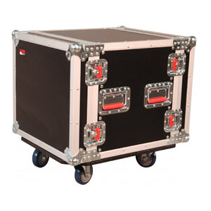 Gator G-TOUR 10U CAST 17in Wood Case with Casters